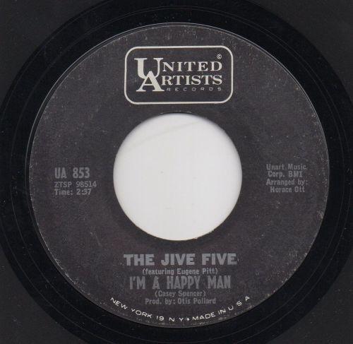THE JIVE FIVE - I'M A HAPPY MAN