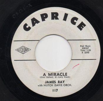 JAMES RAY - A MIRACLE
