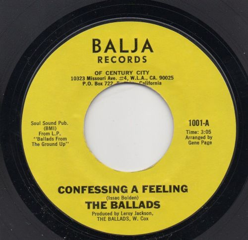 THE BALLADS - CONFESSING A FEELING