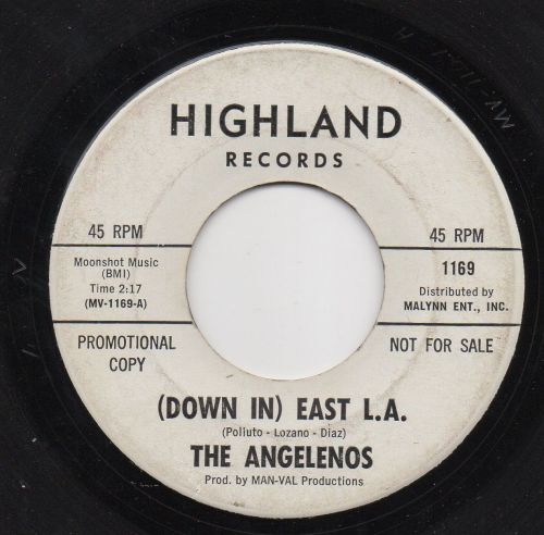 THE ANGELENOS - (DOWN IN) EAST L.A.