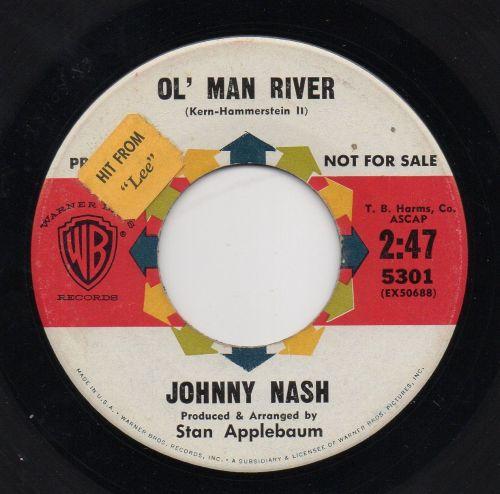 JOHNNY NASH - OL' MAN RIVER