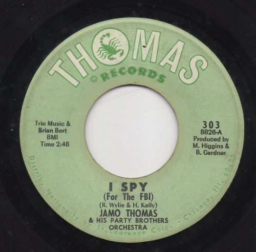 JAMO THOMAS & HIS PARTY BROTHERS ORCHESTRA - I SPY (FOR THE FBI)