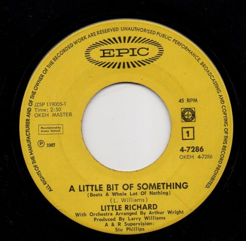 LITTLE RICHARD - A LITTLE BIT OF SOMETHING