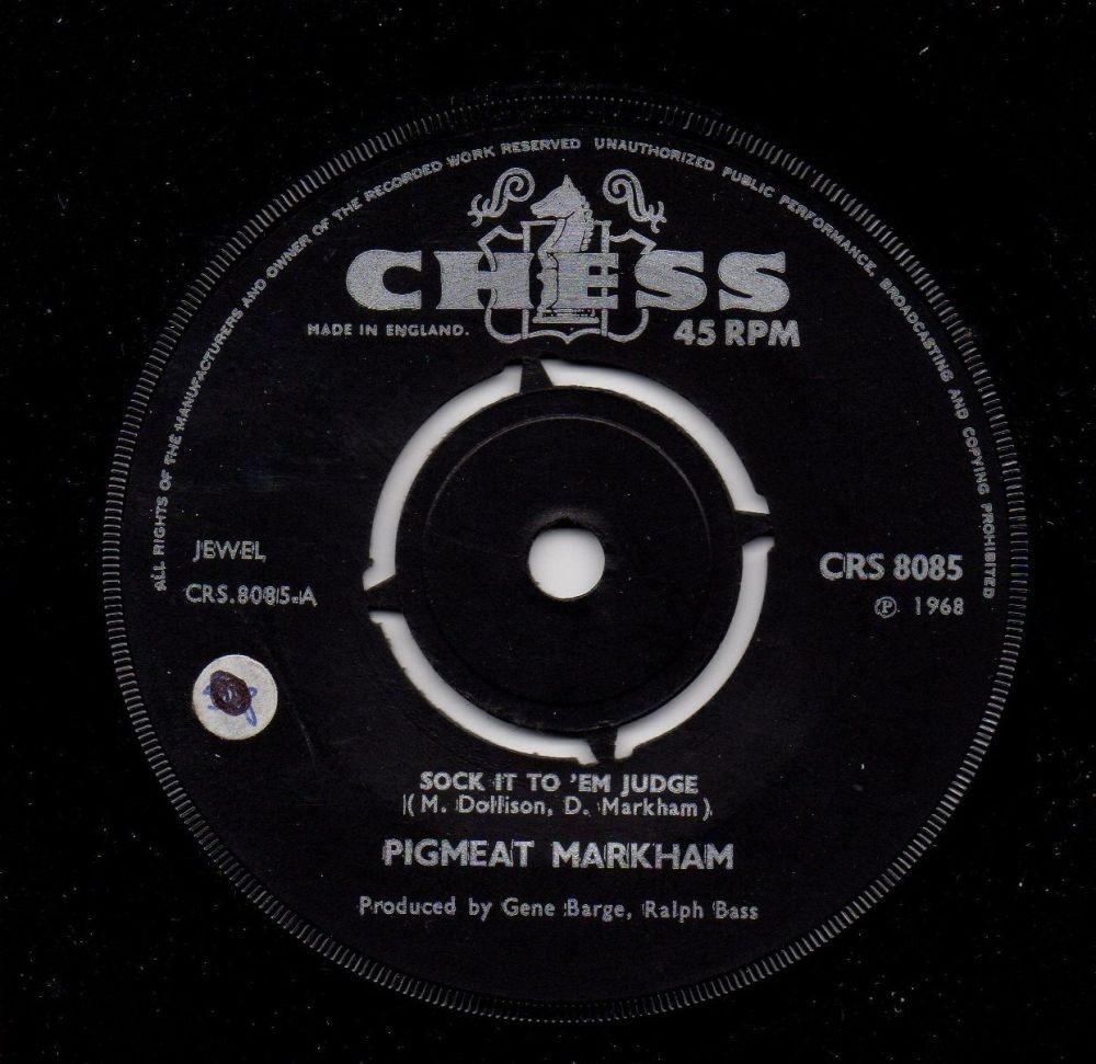 PIGMEAT MARKHAM - SOCK IT TO 'EM JUDGE