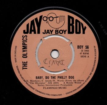 THE OLYMPICS - BABY, DO THE PHILLY DOG