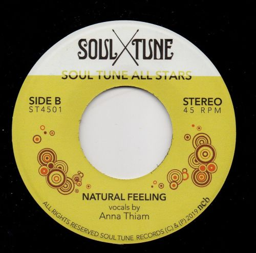 ANNA THIAM - NATURAL FEELING
