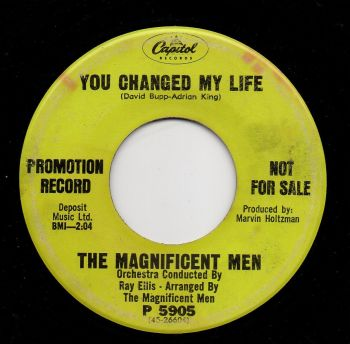THE MAGNIFICENT MEN - YOU CHANGED MY LIFE