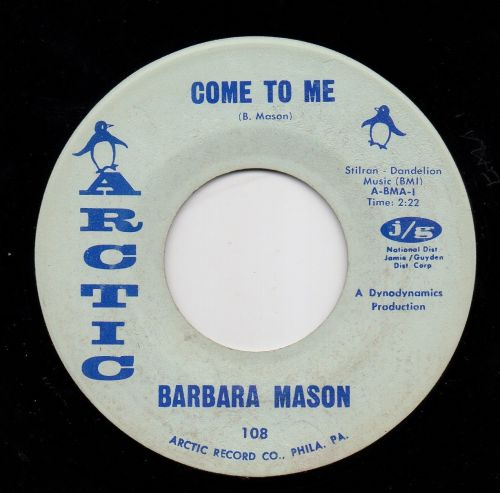 BARBARA MASON - COME TO ME