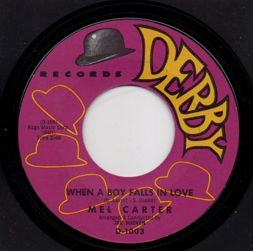 MEL CARTER - WHEN A BOY FALLS IN LOVE