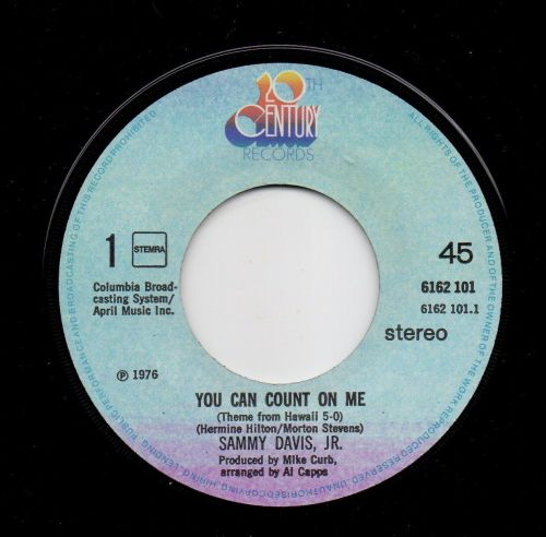 SAMMY DAVIS, JR. - YOU CAN COUNT ON ME