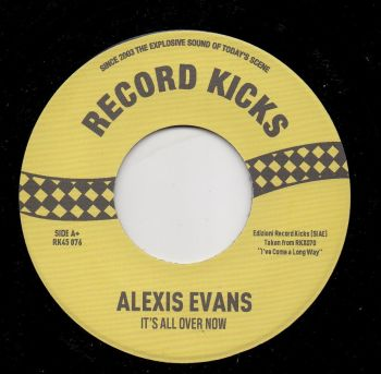 ALEXIS EVANS - IT'S ALL OVER NOW