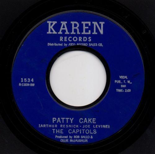 THE CAPITOLS - PATTY CAKE