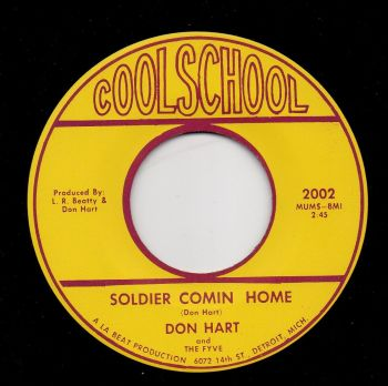 DON HART - SOLDIER COMIN HOME