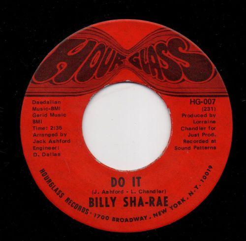BILLY SHA-RAE - DO IT
