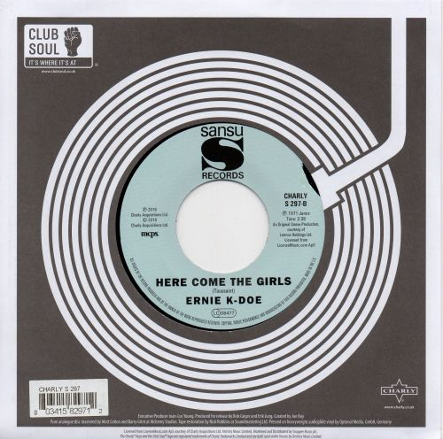 ERNIE K-DOE - HERE COME THE GIRLS