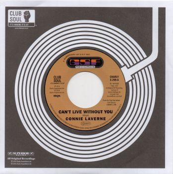 CONNIE LAVERNE - CAN'T LIVE WITHOUT YOU