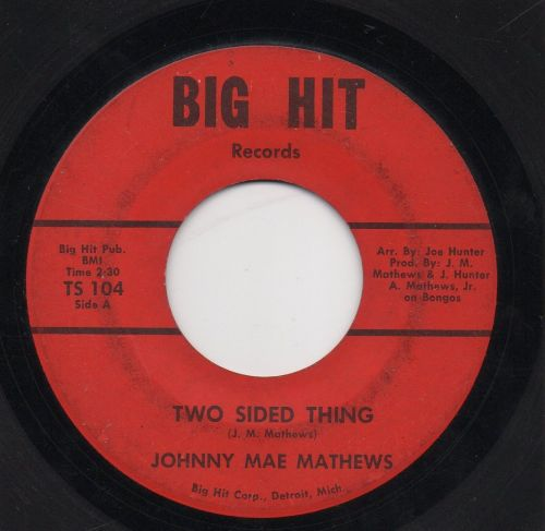 JOHNNY MAE MATHEWS - TWO SIDED THING