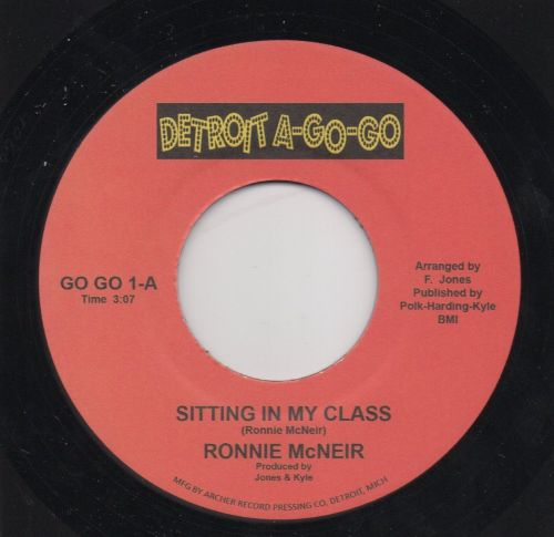 RONNIE McNEIR - SITTING IN MY CLASS (RE)