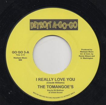 THE TOMANGOE'S - I REALLY LOVE YOU (RE)