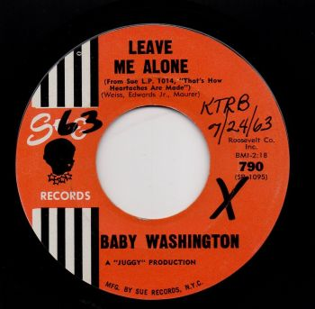 BABY WASHINGTON - LEAVE ME ALONE