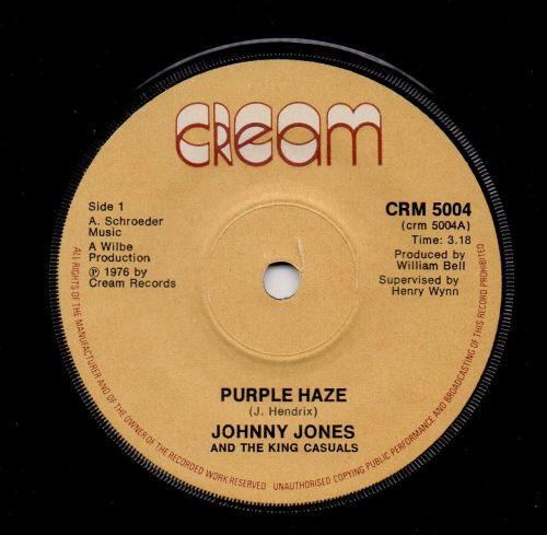 JOHNNY JONES & THE KING CASUALS - PURPLE HAZE