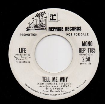 LIFE - TELL ME WHY (Mono)