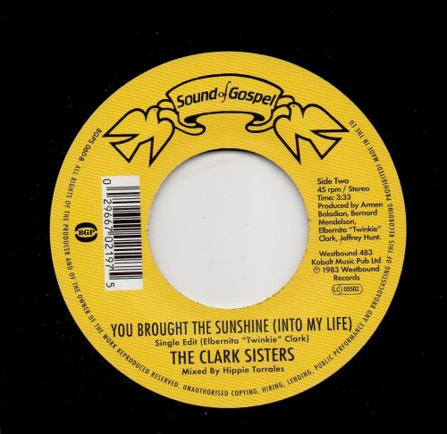 THE CLARK SISTERS - YOU BROUGHT THE SUNSHINE (INTO MY LIFE)