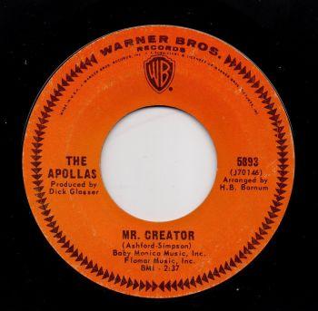THE APOLLAS - MR. CREATOR