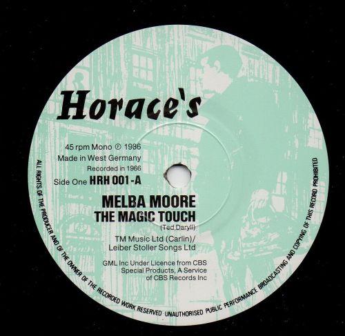 MELBA MOORE - THE MAGIC TOUCH