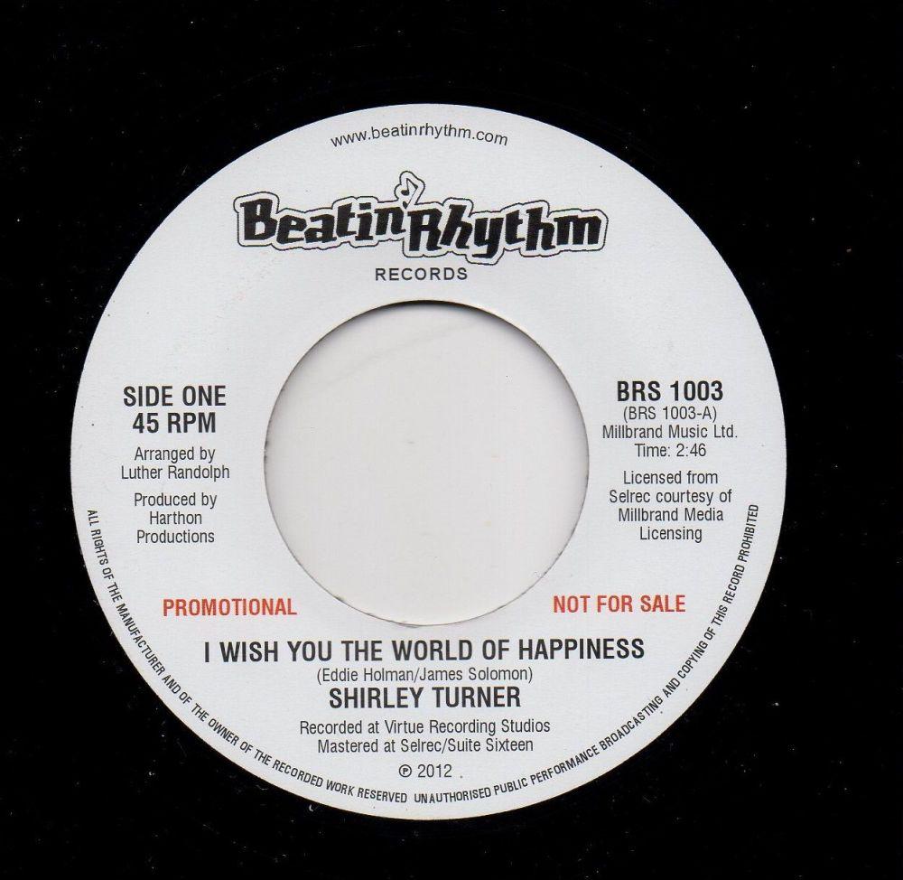 SHIRLEY TURNER - I WISH YOU THE WORLD OF HAPPINESS (PROMO)