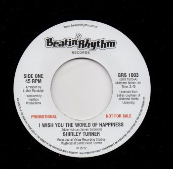 SHIRLEY TURNER - I WISH YOU THE WORLD OF HAPPINESS (PROMO)