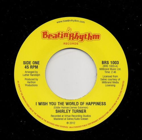 SHIRLEY TURNER - I WISH YOU THE WORLD OF HAPPINESS