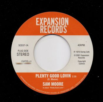 SAM MOORE - PLENTY GOOD LOVIN