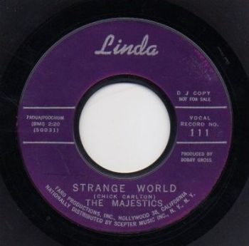 THE MAJESTICS - STRANGE WORLD