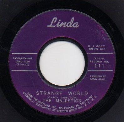 THE MAJESTICS - STRANGE WORLD