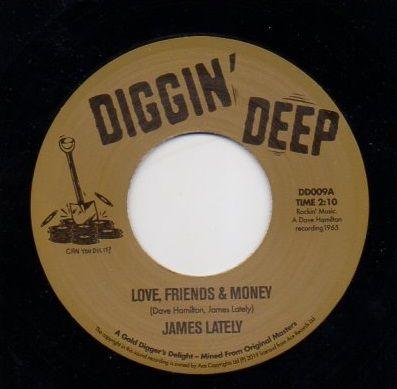 JAMES LATELY - LOVE, FRIENDS & MONEY