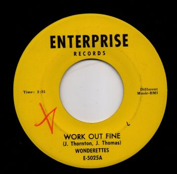 WONDERETTES - WORK OUT FINE