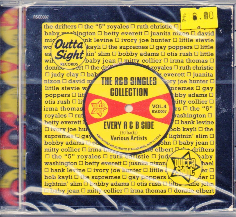 The R&B Singles Collection Vol Four - Various Artists