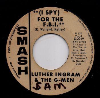 LUTHER INGRAM & THE G-MEN - (I SPY) FOR THE F.B.I.