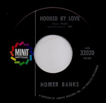 HOMER BANKS - HOOKED BY LOVE