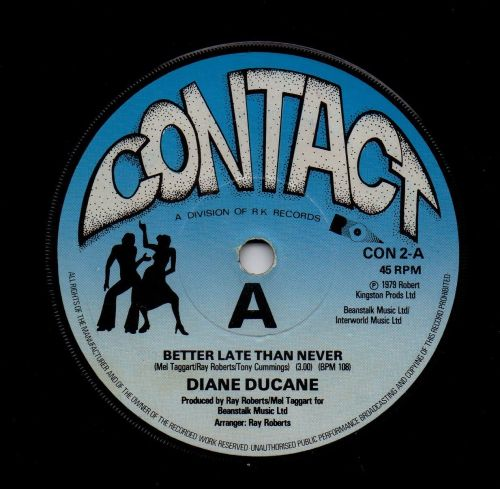 DIANE DUCANE - BETTER LATE THAN NEVER