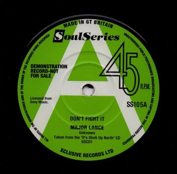 MAJOR LANCE - DON'T FIGHT IT