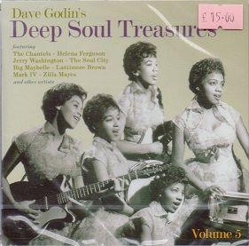 Various - Dave Godin's Deep Soul Treasures Volume Five
