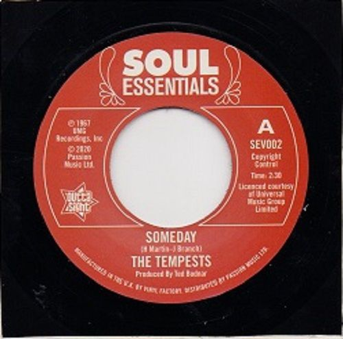 The Tempests - Someday / I Dont Want To Lose Her