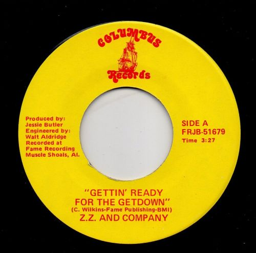 Z. Z. AND COMPANY - GETTIN' READY FOR THE GETDOWN