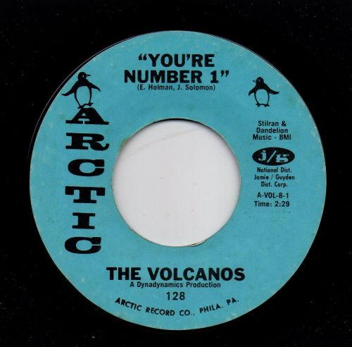 THE VOLCANOS - YOU'RE NUMBER 1