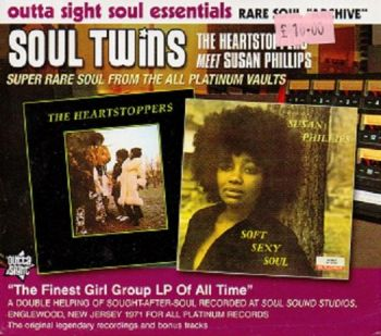 Soul Twins - The Heartstoppers meet Susan Phillips  - Outta Sight CD 2010