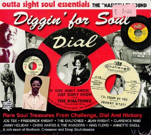 Various - Diggin' For Soul - Challenge, Dial and Hickory