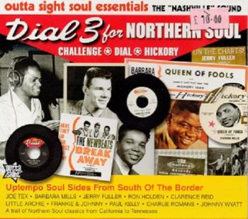 VARIOUS - DIAL 3 FOR NORTHERN SOUL - OUTTA SIGHT