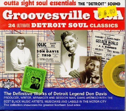 Various - Groovesville USA - Detroit Soul Classics